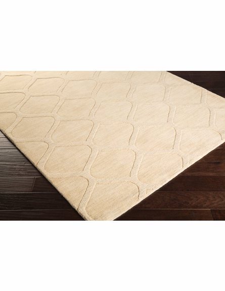 Mystique Lattice Rug in Ivory