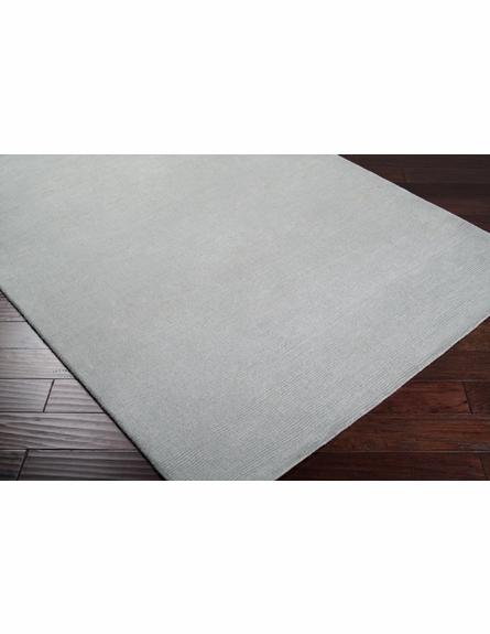 Mystique Solid Rug in Ash Gray