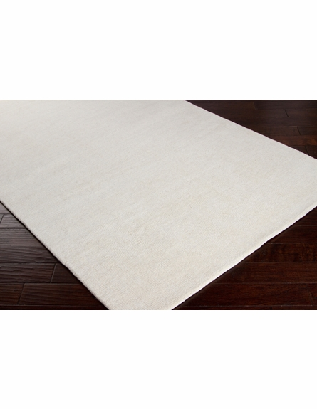 Mystique Solid Rug in Cream