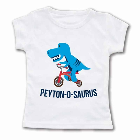 Name-o-saurus Personalized T-Shirt