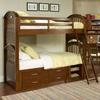 Nantucket Twin Bunk Bed with Storage