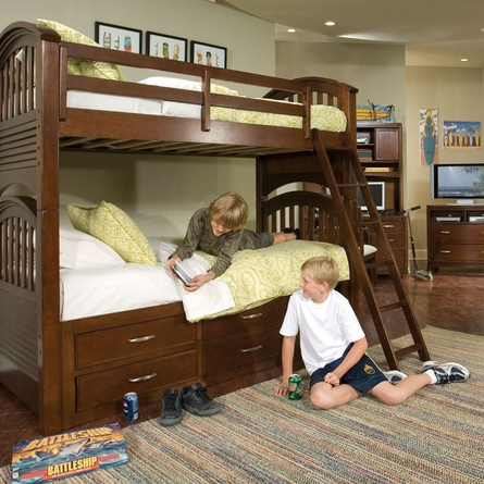 Nantucket Bunk Bed with Storage