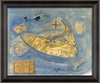 Nantucket Island 1829 Framed Wall Art