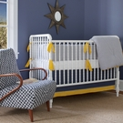 Nantucket Seersucker 3-Piece Crib Bedding Set