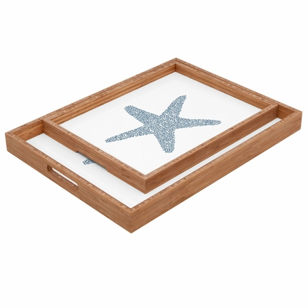 Nantucket Starfish Rectangle Tray