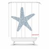 Nantucket Starfish Shower Curtain