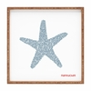 Nantucket Starfish Square Tray