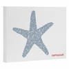 Nantucket Starfish Wrapped Canvas Art