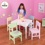 Girls Table & Chair Sets