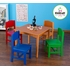 Nantucket Table & 4 Primary Chair Set in Honey