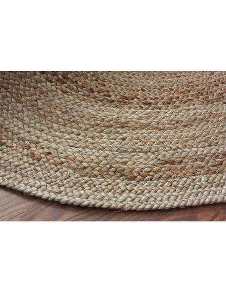 Natura Braided Jute Rug in Natural