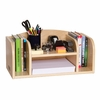 Natural Low Desk Organizer