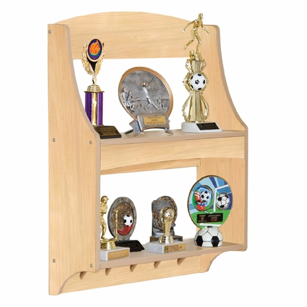 Natural Personalized Trophy Rack