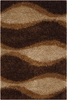 Nature Waves Shag Fola Rug