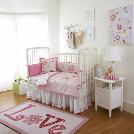 Natureland Fairies 3-Piece Baby Bedding Set