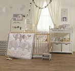 Naturi 4-Piece Crib Bedding Set