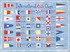 Nautical Flags Canvas Wall Mural