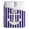 Navy Anchor Lightweight Duvet Cover