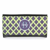 Navy and Lime Quatrefoil Monogram Wallet