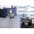 Navy Chevron Bedding Set