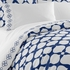 On Sale Navy Embroidered Hollywood Pillowcase Set - King