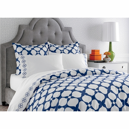 Navy Hollywood Duvet Cover