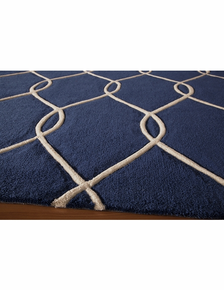 Navy Links Bliss Rug