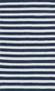 Navy Stripe Piper Rug