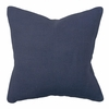 Navy Willow Basket Weave Pillow