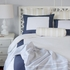 Navy Windowpane Pillow Sham