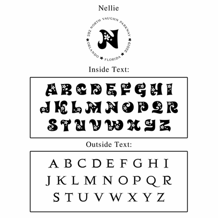 Nellie Personalized Self-Inking Stamp