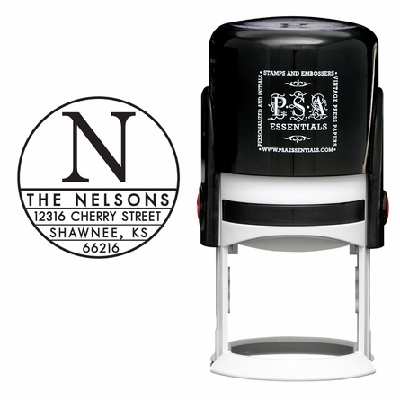 Nelson Personalized Self-Inking Stamp