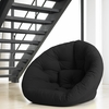 Nest Small Futon in Black