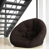 Nest Small Futon in Chocolate