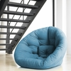 Nest Small Futon in Horizon Blue