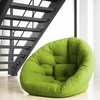 Nest Small Futon in Lime