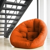 Nest Small Futon in Orange
