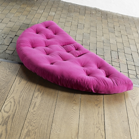 Nest Small Futon in Pink