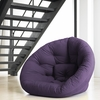 Nest Small Futon in Purple