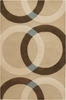 Neutral Circle Bense Rug