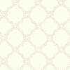 Neutral Open Trellis Wallpaper