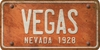 Nevada Custom License Plate Art