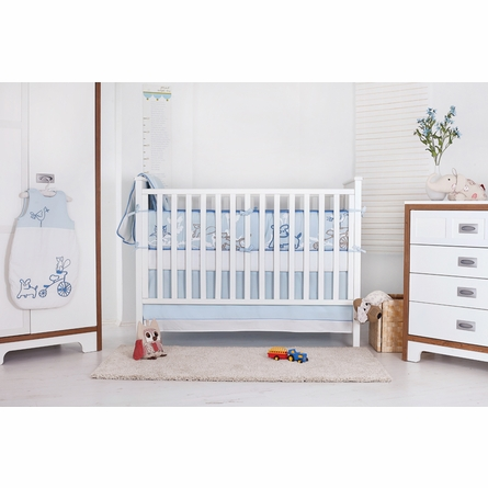 Nevo Organic Cotton Baby Bedding Set