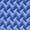 New Arrivals Inc Fabric - Blue Stone Zig Zag
