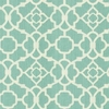 New Arrivals Inc Fabric - Lattice in Aqua