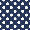 New Arrivals Inc Fabric - Polka Dot in Navy
