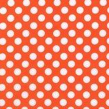 New Arrivals Inc Fabric - Tangerine Dot