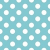 New Arrivals Inc Fabric - Tiffany Blue Dot