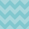 New Arrivals Inc Fabric - Zig Zag in Aqua