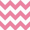 New Arrivals Inc Fabric - Zig Zag in Hot Pink
